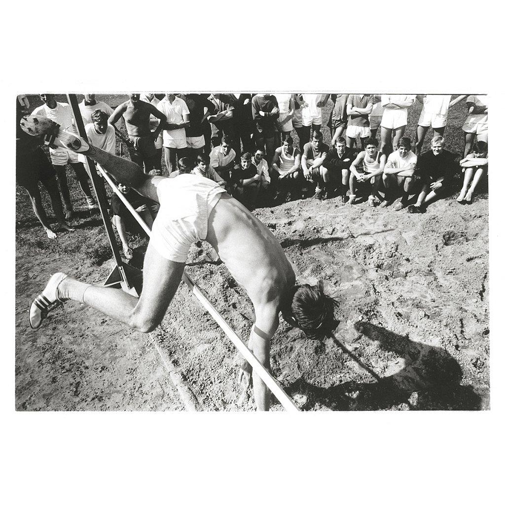 Mike beim Sport Schloß Schule Salem, 1963